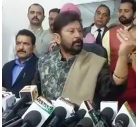 Congress candidate Vikramaditya should resign on moral grounds: Lal Singh