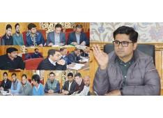 DEO Shopian reviews election preparedness