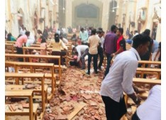 125 Dead, 500 injured in Series of Blasts in Sri Lanka