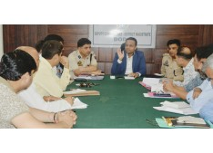 Traffic decongestion measures discussed at Doda; DC  Sagar chairs meeting