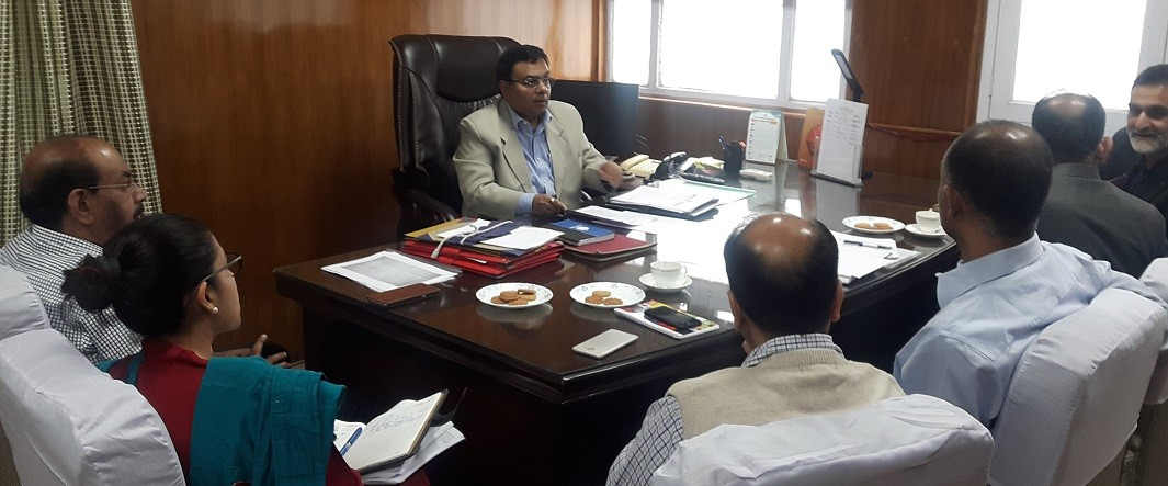 Govt exploring external funding for Wular conservation:Manoj Dwivedi