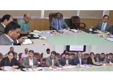 Lt. Governor reviews School Education,JKIDFC and Prisons; Directs  Fast track recruitment on vacant positions