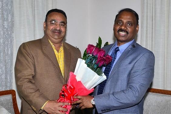 President CCI Jammu Rakesh Gupta meets Lt. Governor