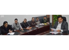 DDC Udhampur reviews progress on Devika project