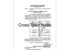 Deployment of 8 more Liaison Officers for Regional Conference in Jammu