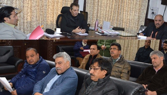 Div Com reviews water supply, sanitation scenario of Budgam
