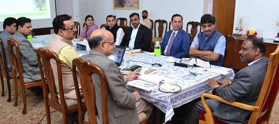 Lt. Governor reviews status of Power Development Department and preparations for Global Investors' Summit  Directs for earliest restoration of electrical lines in the Valley