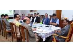 Lt. Governor reviews status of Power Development Department and preparations for Global Investors' Summit