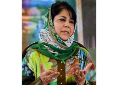 Mehbooba Mufti shifted to heating system Govt house