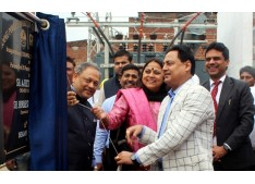 Ajeet, Hirdesh inaugurate power receiving station at SIDCO