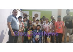 J&K Bags 3rd Position at Anjali International Festival; Sarita,Arun congratulate the Team