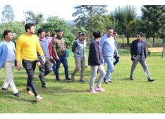 Navin Choudhary inspects Jammu Tawi Golf Course, Asks to develop facilities like Swimming Pool, Squash Court, Tennis Court