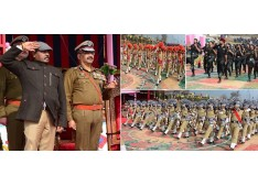 Police doing commendable job in JK: Lt. Governor: 1145 policemen pass out from Academy