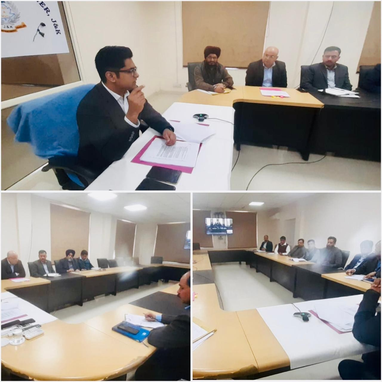 Transport Commissioner Owais Ahmed  reviews implementation of J&K Subsidy Scheme