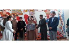 CWSN felicitated through School Education Department; Sarita appreciates the J&K Team
