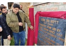 Sarmad Hafeez lays foundation of amusement park, footbridge