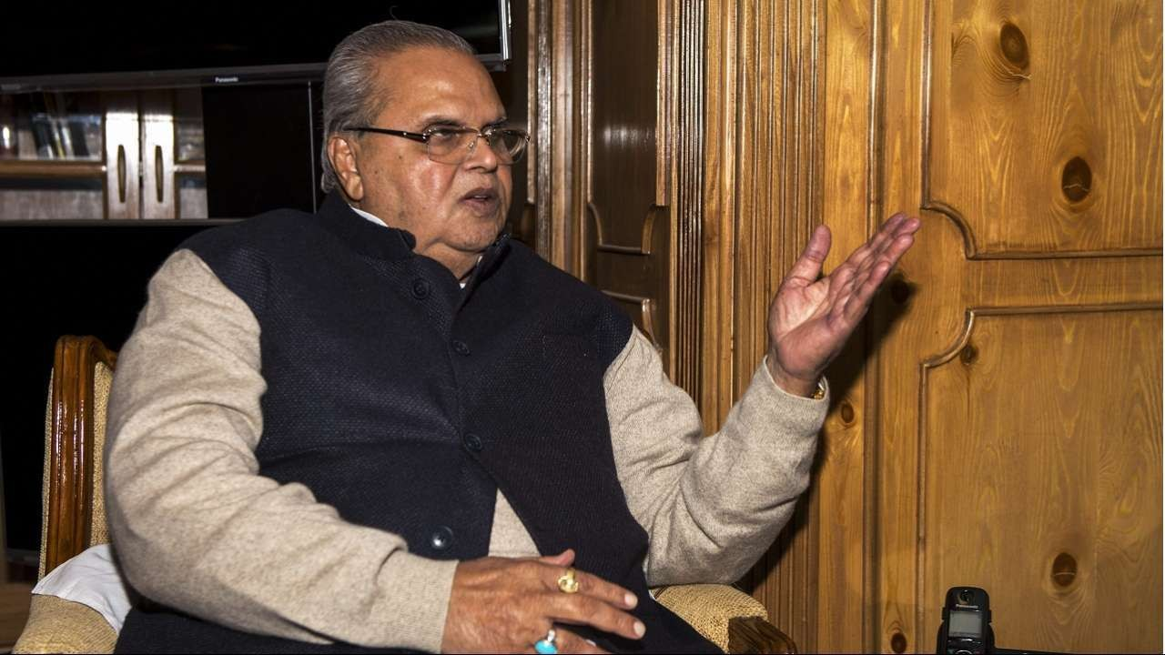 Top J&K Politicians could land in Jail:Satya Pal Malik