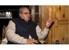 Top J&K Politicians could land in Jail:Satya Pal Malik