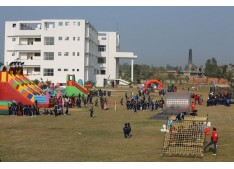 Adventure camp at Jammu Sanskriti School