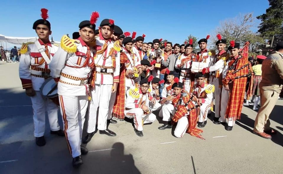 J&K bags 3rd Position in North Zone School Band Competition; Sarita, Arun congratulate Team