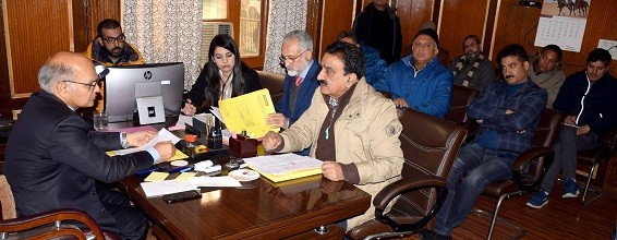 Advisor Sharma raises highlighted issued with officials, directs early redressal