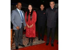 Lt Governor honours Sonali Dogra