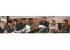 Div com reviews arrangements to conduct elections for vacant Panchayat seats