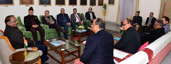 Jammu Civil Society calls on Lt Governor, submits memorandum of demands