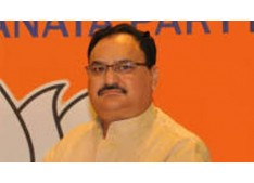 JP Nadda set to be elected BJP chief unopposed