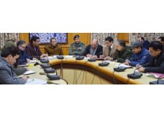 Div Com chairs meeting to discuss Parking Plan for Srinagar City