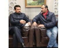 Ranjeet Kalra meets Anurag Thakur; International Matches soon in Jammu: Anurag
