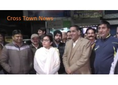 Avny shows her presence: Conducts night visit to see ground situation in Jammu