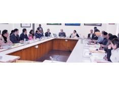 Sarita Chauhan reviews functioning of Forest Deptt