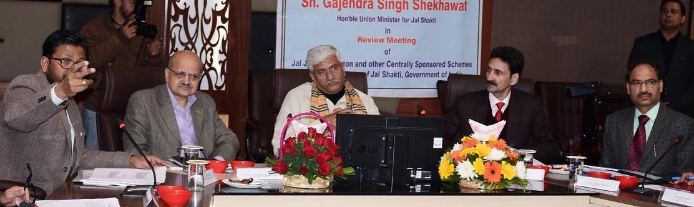 Shekhawat e-inaugurates 42 Water Supply Schemes in Jammu: Minsiter appreciates J&K CS BVR Subrahmanyam, Ajeet Sahu
