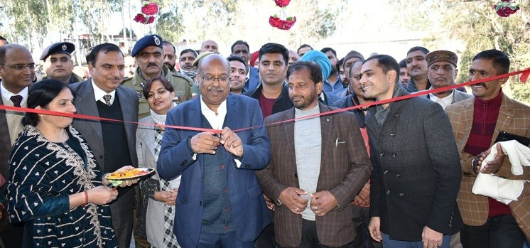 Sanjay Shamrao conducts public outreach camp at Nowshera, Rajouri