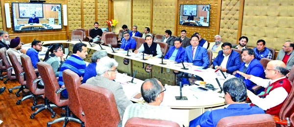 CS reviews preparations for J&K Global Investors Summit