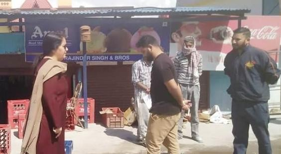 DC Reasi asks officers to carry on with routine work