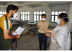 Commissioner/Secretary Forest Sarita Chauhan reviews facilities at Udhampur quarantine centres