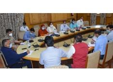Div Com reviews preventive measures taken in NON Covid Hospitals in Kashmir
