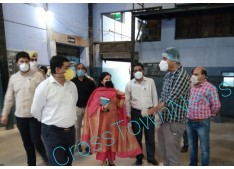 Excise Comm inspects various distilling/ bottling plant; Rs 18 cr Business in 3 Days; All Liquor trades to remain open tomorrow