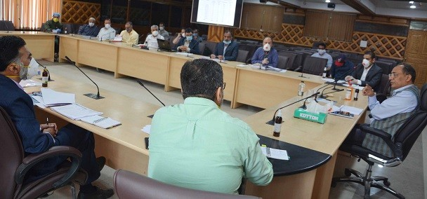 Rohit Kansal directs officers to complete projects on priority
