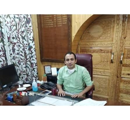 Ravinder Kumar assumes charge of DC Bandipora
