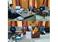 MD Kashmir Power Discom reviews implementation of Smart Metering Project in Srinagar city