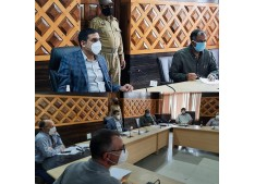 MD Kashmir Power Discom reviews progress under DDUGJY and PMDP-Rural in 9 districts