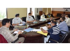 Div Com Jammu reviews land acquisition cases for New Grid Stations