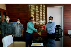 Manoj Dwivedi holds I&C, GAD officers' meets, reviews Darbar Move arrangements in Srinagar