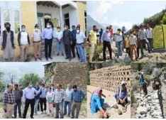Director RDD conducts 2 day tour of Kishtwar; inspects development works