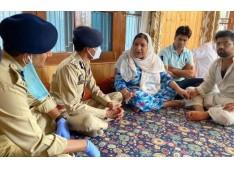 IGP, Kashmir visits family of civilian killed in Sopore, promises impartial investigation