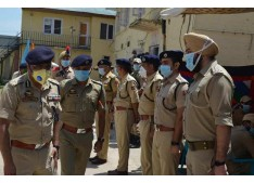 DGP interacts with officers, Jawans of Police component; chairs jurisdictional officers meeting