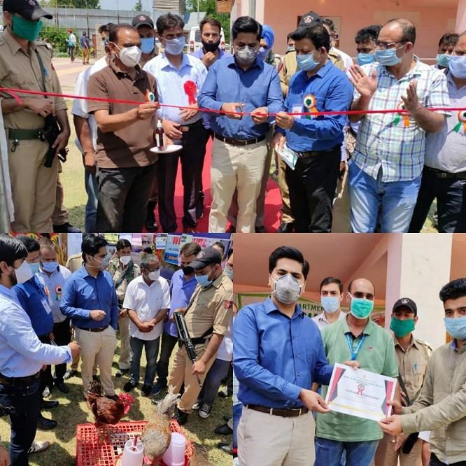 Kissan Pakhwada: DDC Bandipora inaugurates Kissan Mela